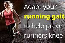 Retraining your gait to help prevent runners knee